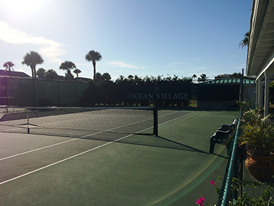 Ocean Village Tennis Courts